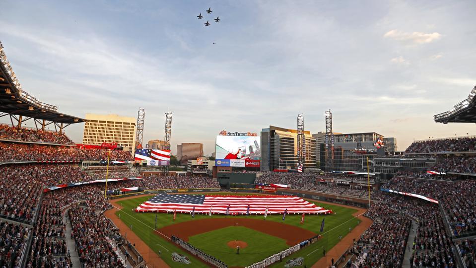 MLB: APR 14 Padres at Braves