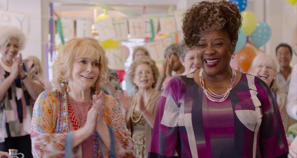 Ann-Margret and Loretta Devine in 'Queen Bees' film