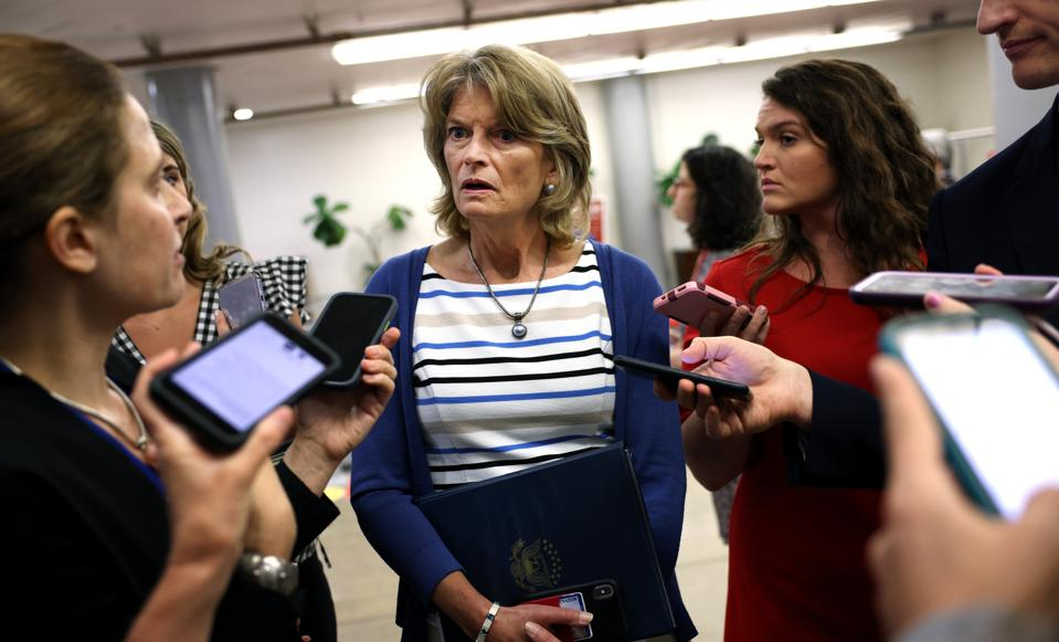 Senate Holds Votes On Capitol Hill