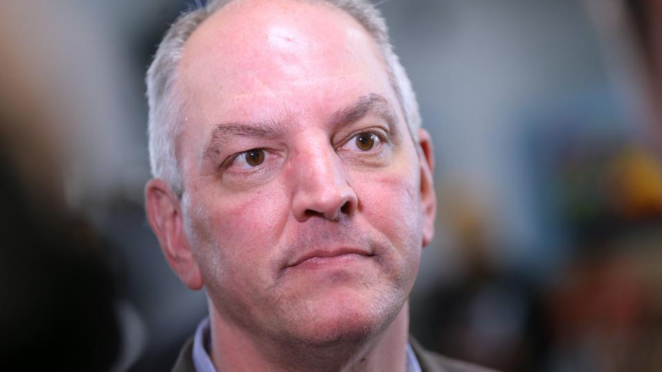 John Bel Edwards Campaigns In New Orleans Ahead Of Gubernatorial Runoff Election