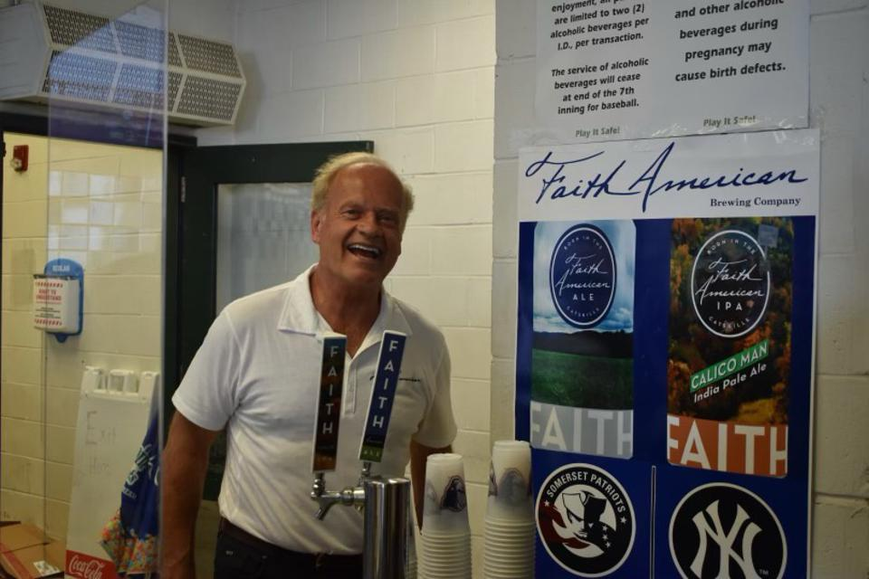 Kelsey Grammer has spent six years brewing the Faith American Ale and the Calico Man IPA.