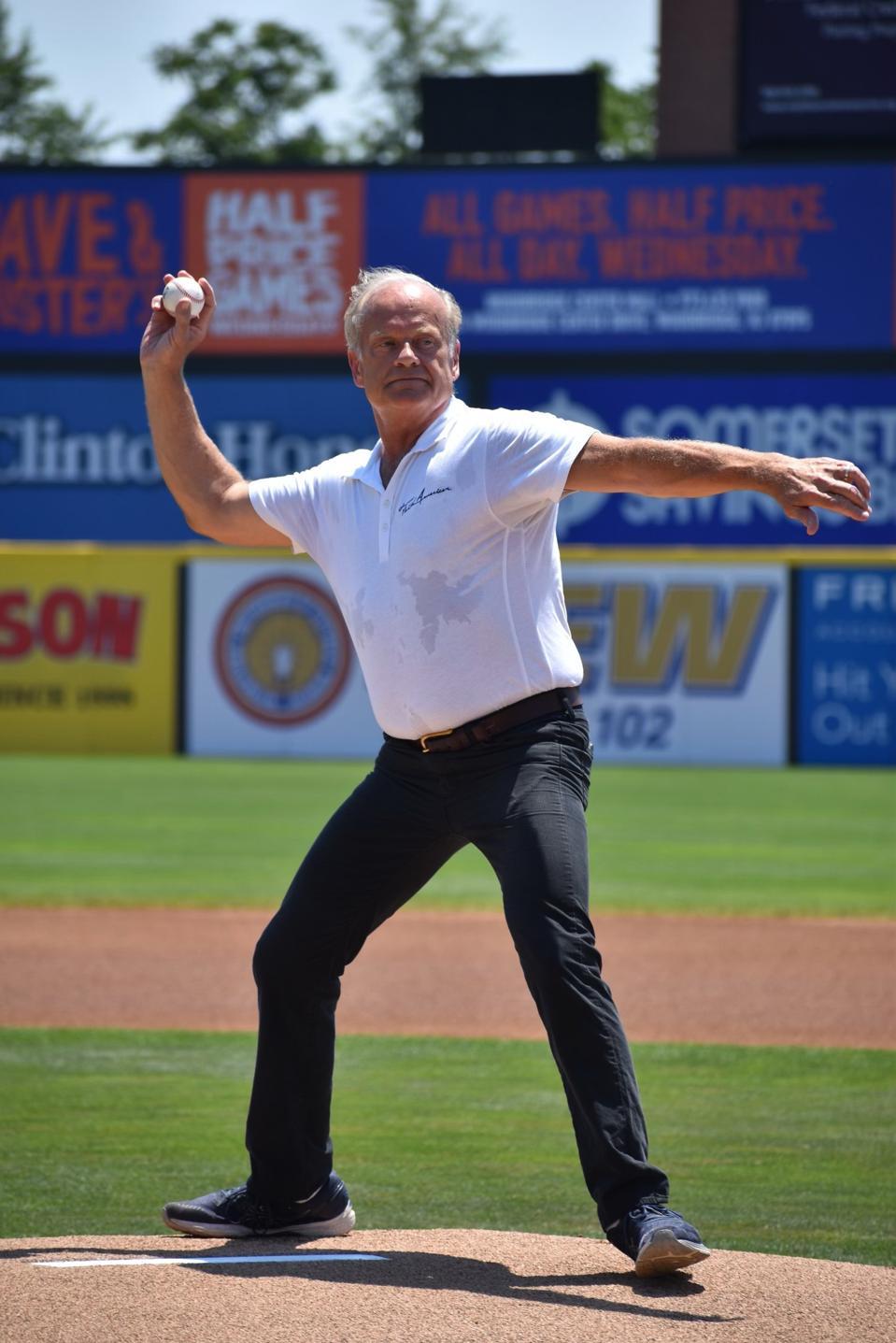 Kelsey Grammer's baseball fandom stretches back decades.