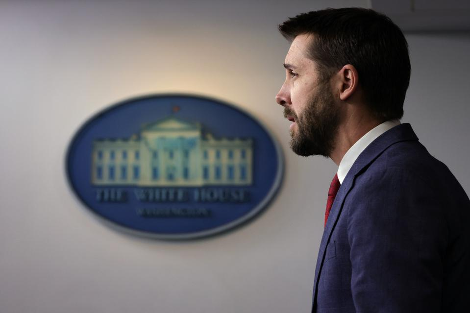 National Economic Council Director Brian Deese Briefs White House Press