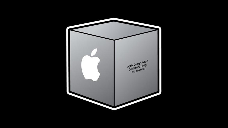 Illustration of the ADA's silver cube set against a black background