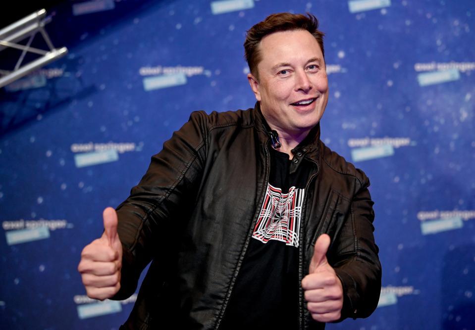 Elon Musk Awarded With Axel Springer Award In Berlin