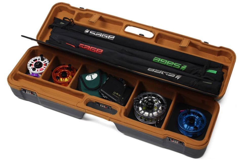 Premium Technical Fly Fishing Rod & Reel Travel Case