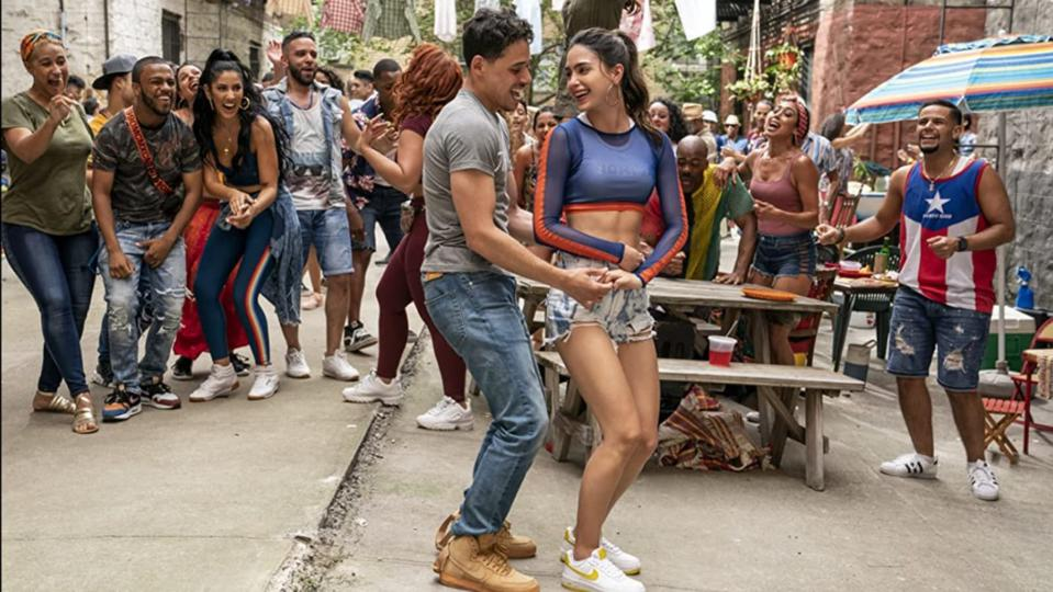 A man and a woman dance in In the Heights