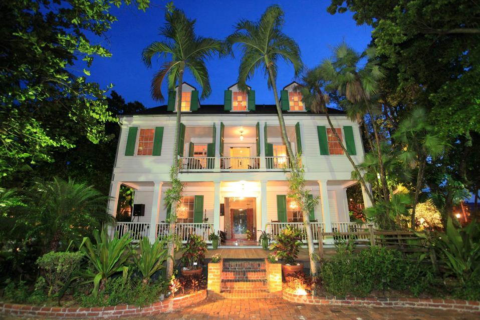 Audubon House & Tropical Gardens. Key West, Florida.