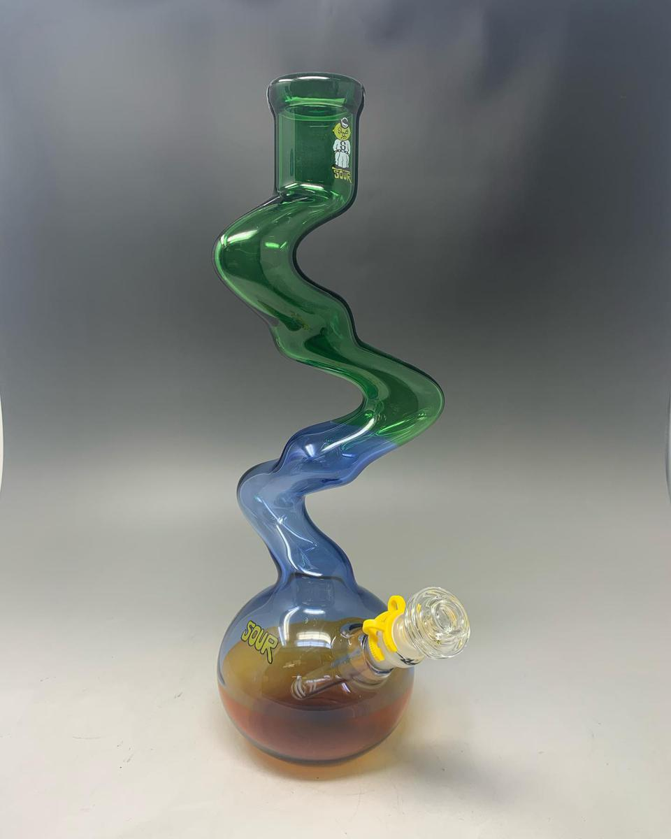 The anti-twist bong from Sour Glass.