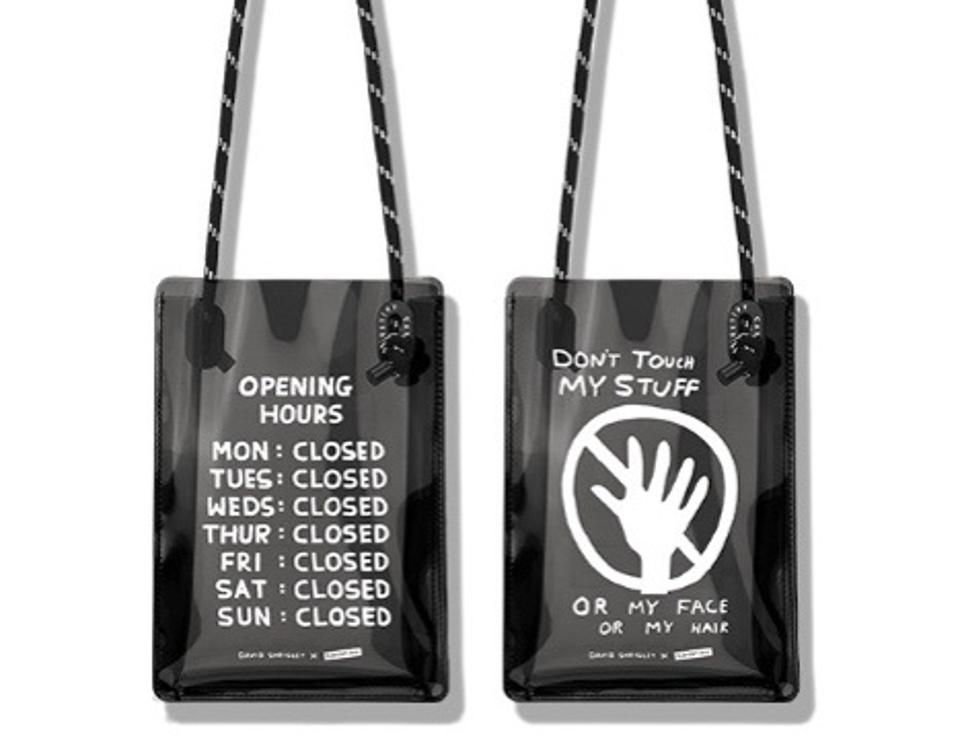 Opening Hours Sling Bag by David Shrigley x CASETiFY