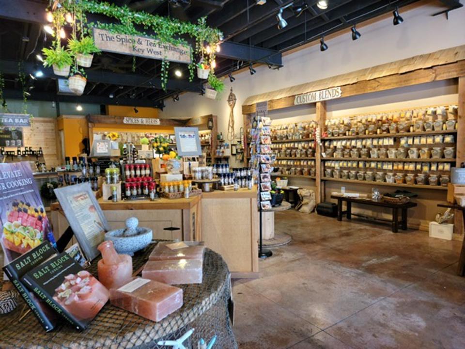 The Spice & Tea Exchange of Key West.