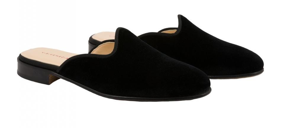 Loafers Mule Nero by ViBi Venezia