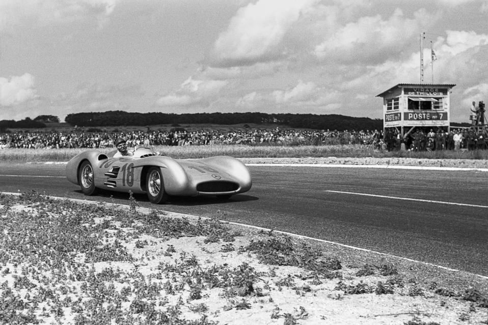 Juan Manuel Fangio, Großer Preis von Frankreich
