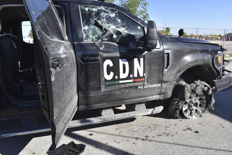 Mexico Coahuila Gunbattle