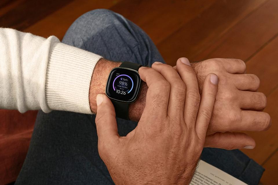 Best prime day deals: Fitbit watch on man's wrist
