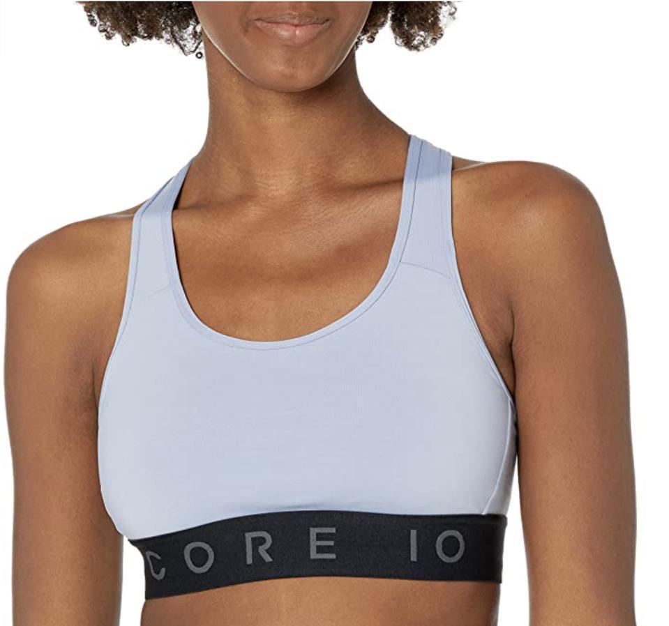Best prime day deals: Amazon Brand Core 10 Women's Medium Support Compression Sports Bra