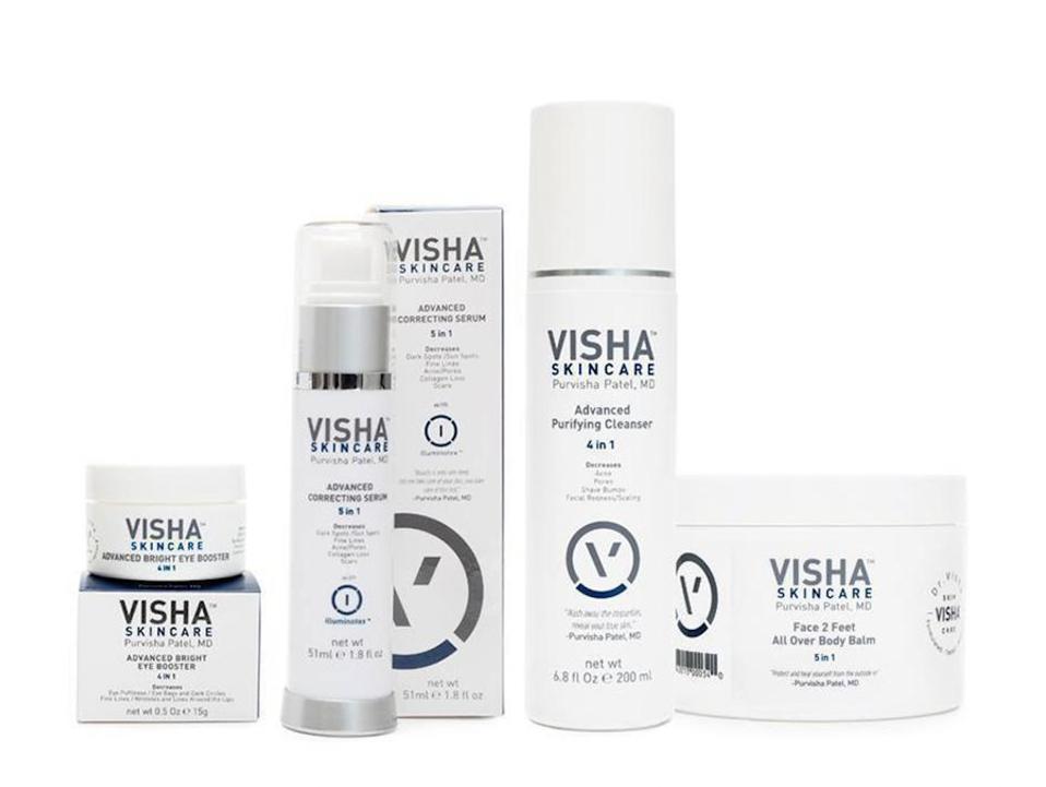 Visha Skincare Advanced Skin Care Set
