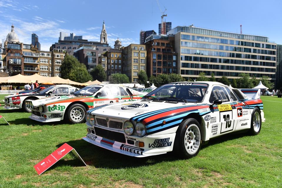 L'ultima vettura a trazione posteriore a vincere il Mondiale Rally è stata la Lancia 037 Rally.