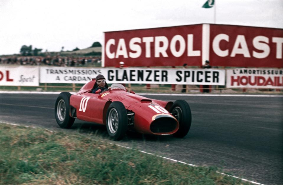 La T50 disegnata da Lancia ha vinto il Campionato del Mondo di Formula Uno per Juan Manuel Fangio.