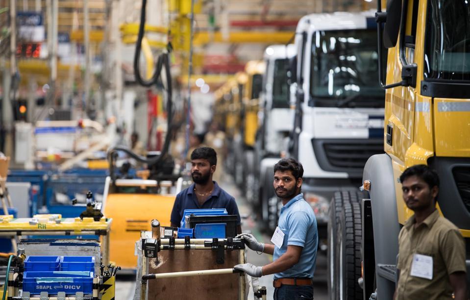 Daimler plant in India