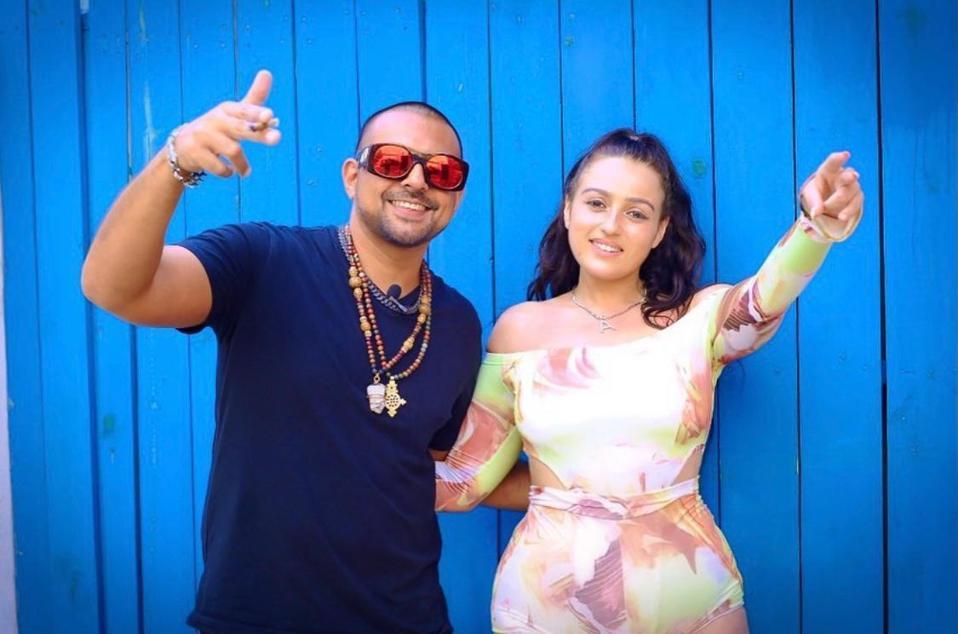 Amel Rachedi with guest Sean Paul