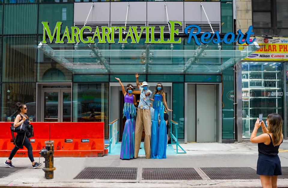 Margaritaville Times Square opens July 1, 2021