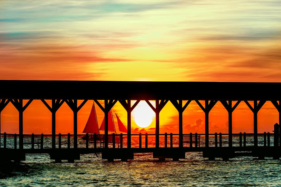 Sunset Key Cottages is renowned for its spectacular sunset views.