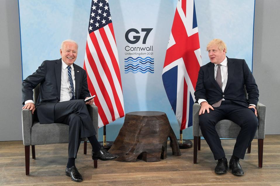 TOPSHOT-BRITAIN-US-G7-SUMMIT