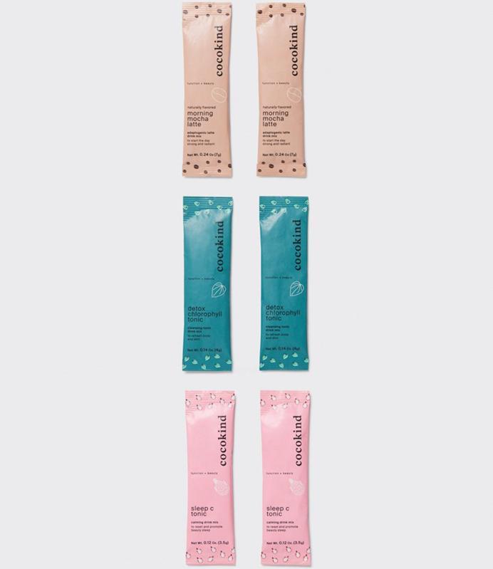 Cocokind's Beauty Bevs Sampler pack