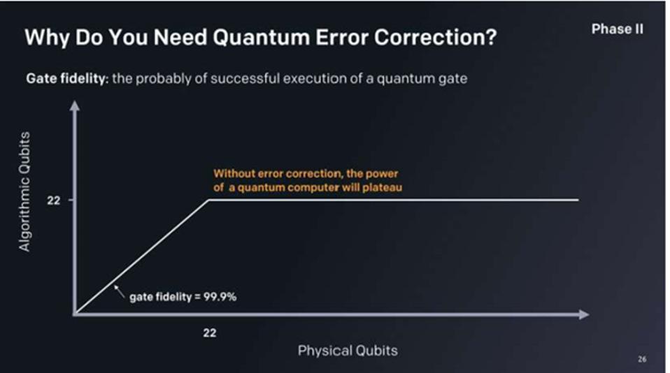 Why Do You Need Quantum Error Correction?