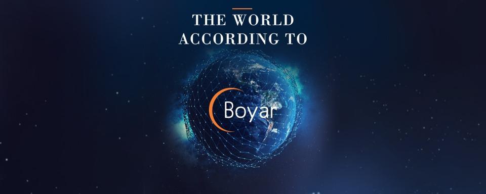 The World According to Boyar Podcast logo