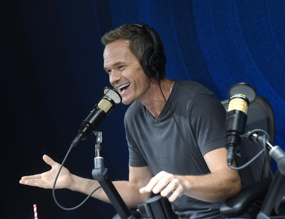 Neil Patrick Harris Visits SiriusXM's The Jess Cagle Show At the SiriusXM Hollywood Studios In Los Angeles