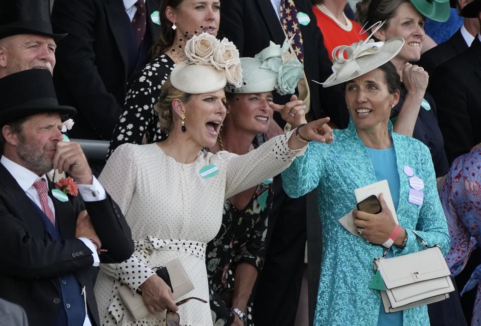 British royals at Britain Royal Ascot 2021
