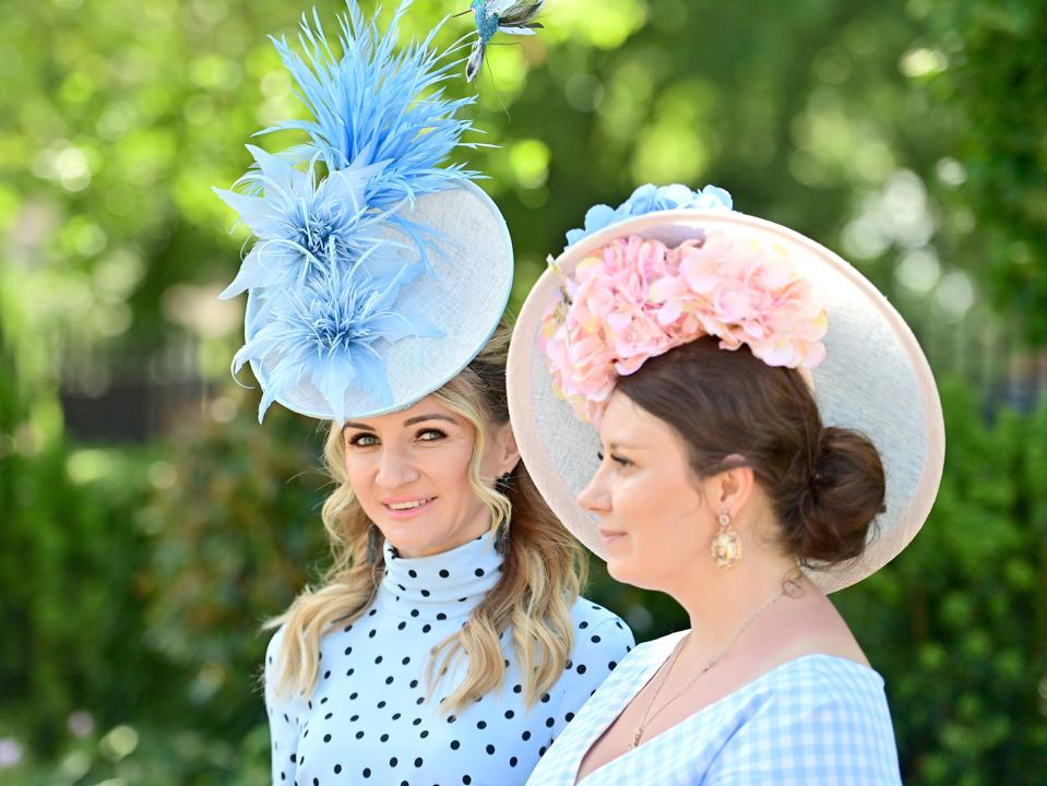 Crazy hats at 2021 Royal Ascot - Day Two