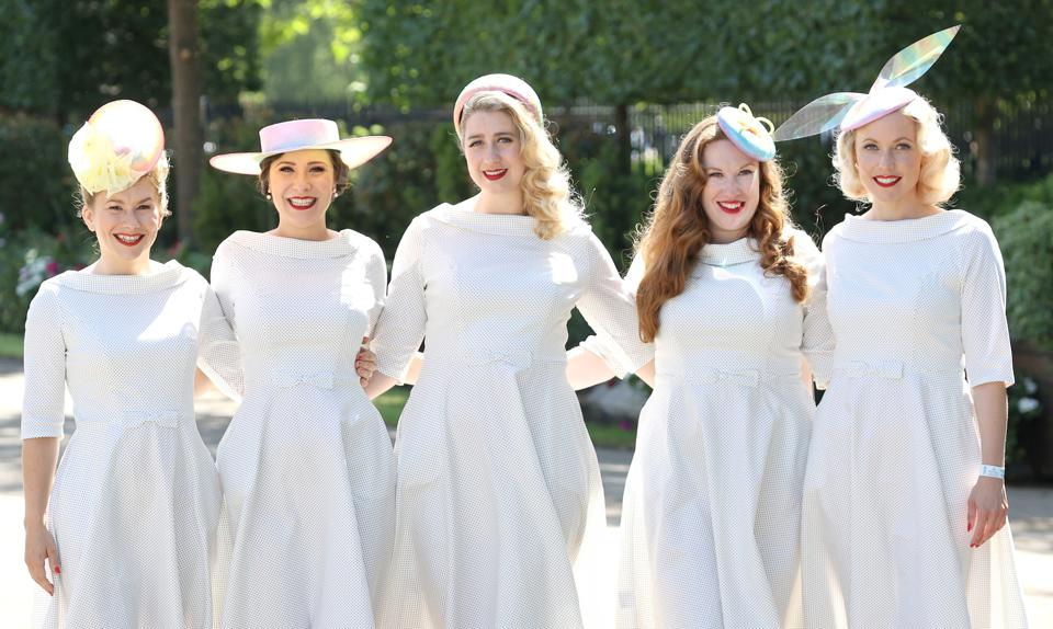 The Tootsie Rollers at 2021 Royal Ascot - Day Two