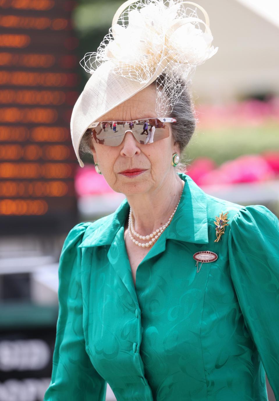 Princess Anne at 2021 Royal Ascot - Day Two