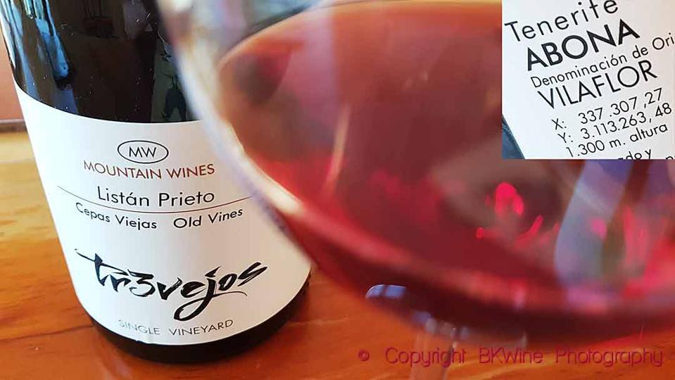MW Listán Prieto 2018, Vinos Altos de Trevejos, Tenerife
