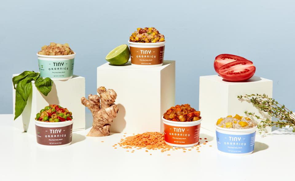 Tiny Organics launched with a mission to make babies less picky eaters.