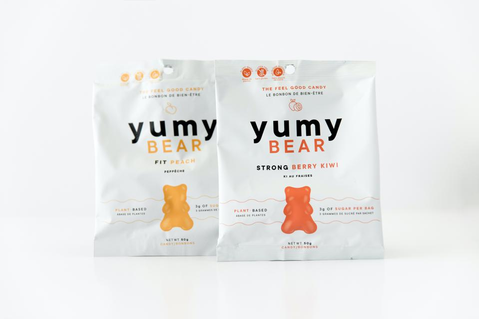 Yumy Bear is made with plant-based ingredients instead of gelatin.