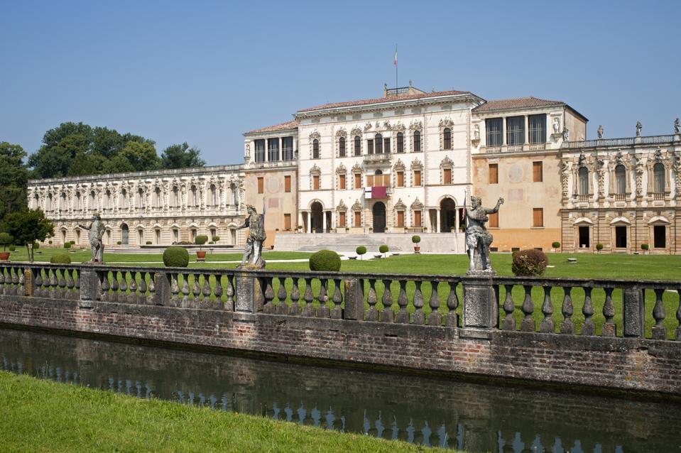 Historic Villa Contarini, an architectural masterpiece in Veneto