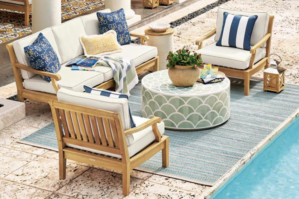 4th Of July Patio Furniture S Save, Pottery Barn Deck Furniture