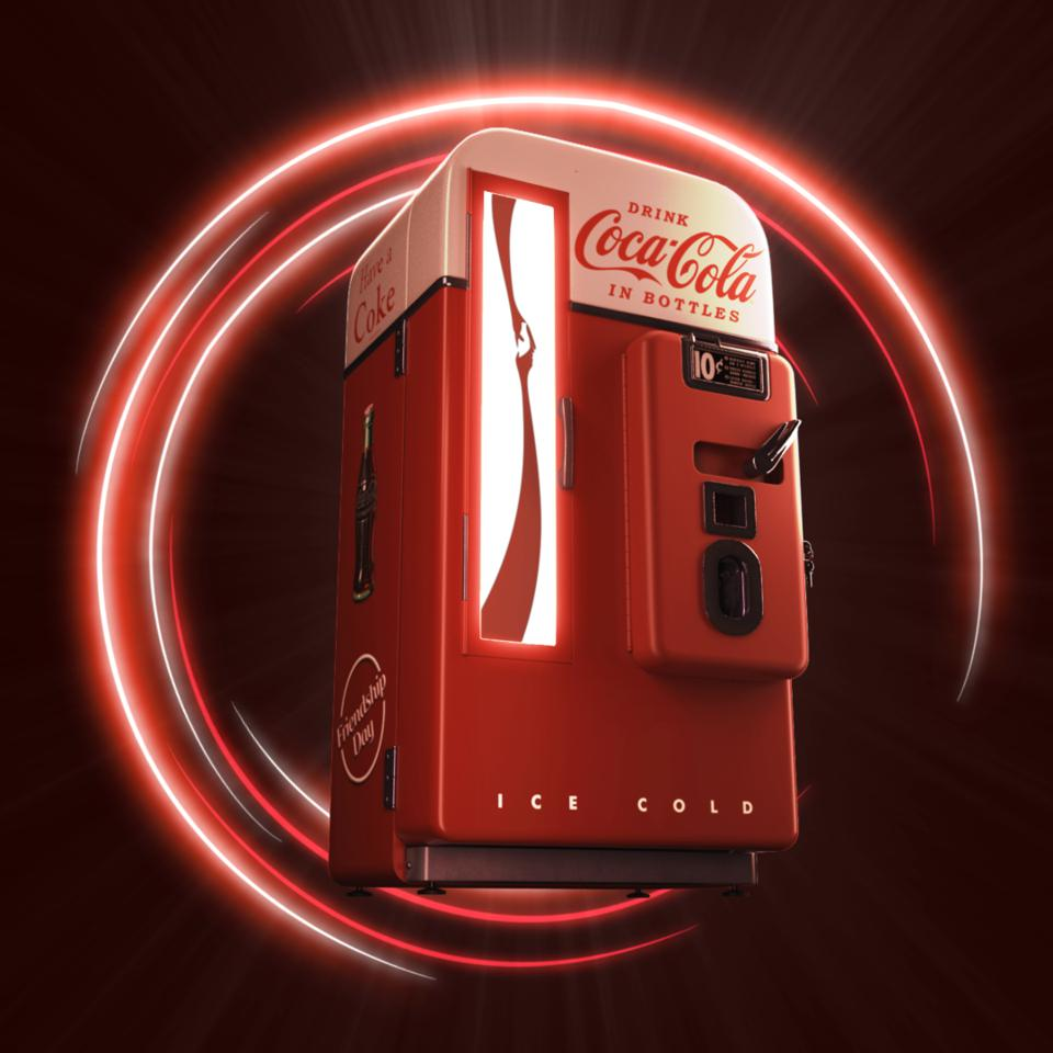 Proceeds from Coca-Cola's first NFT auction will benefit the Special Olympics.