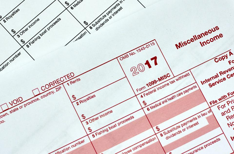 Beware Irs Form 1099 Mistakes That Trigger Big Taxes On Phantom Income