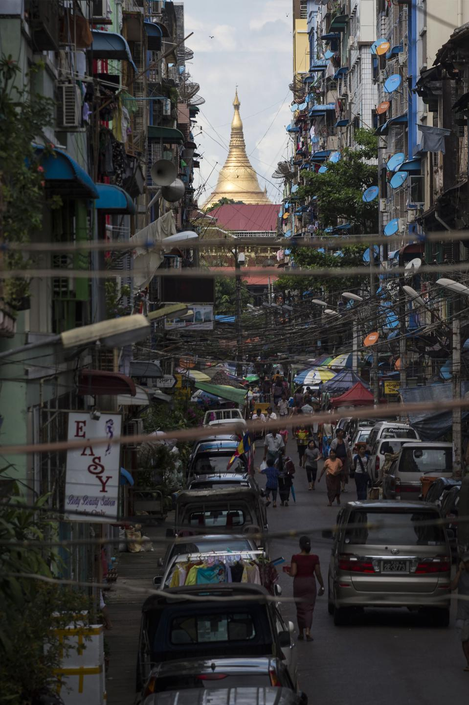Yangon, Myanmar (ROMEO GACAD/AFP/Getty Images)