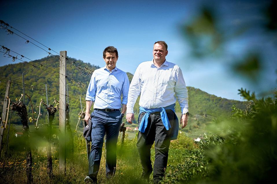 Roman Horvath and Heinz Frischengruber Photo Credit Domäne Wachau