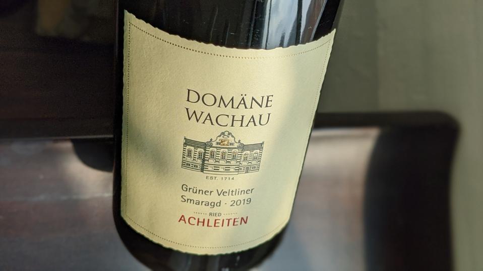 2019 Domäne Wachau, Grüner Veltliner Smaragd 'Ried Achleiten'