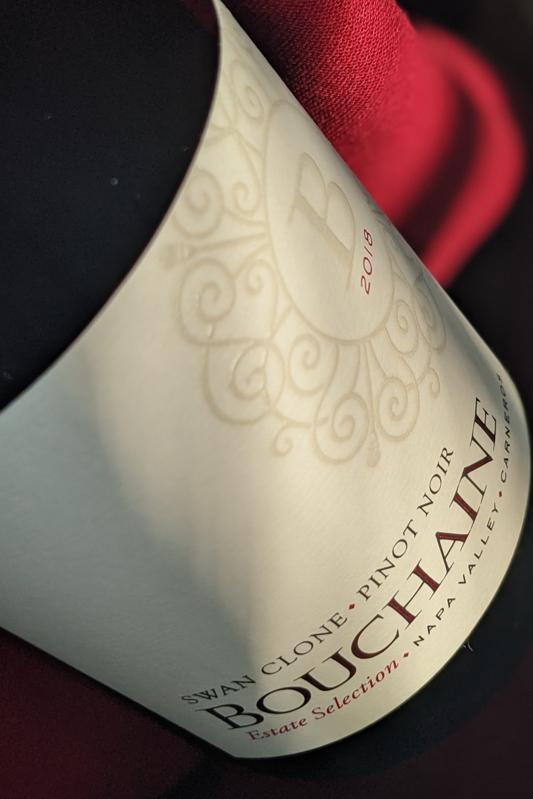 2018 Bouchaine 'Swan Clone' Estate Pinot Noir