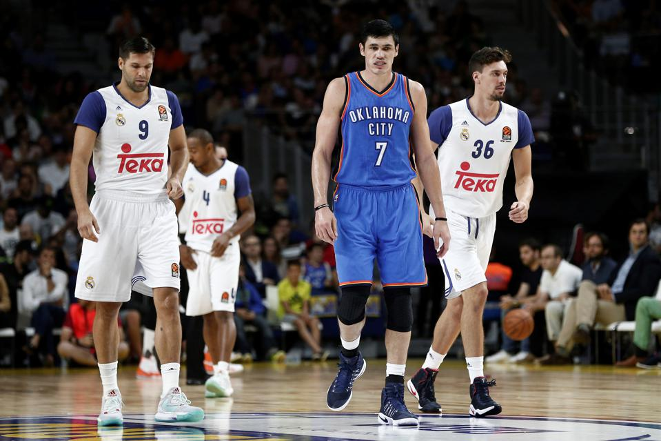 Oklahoma City Thunder vs Real Madrid: 2016 NBA Global Games