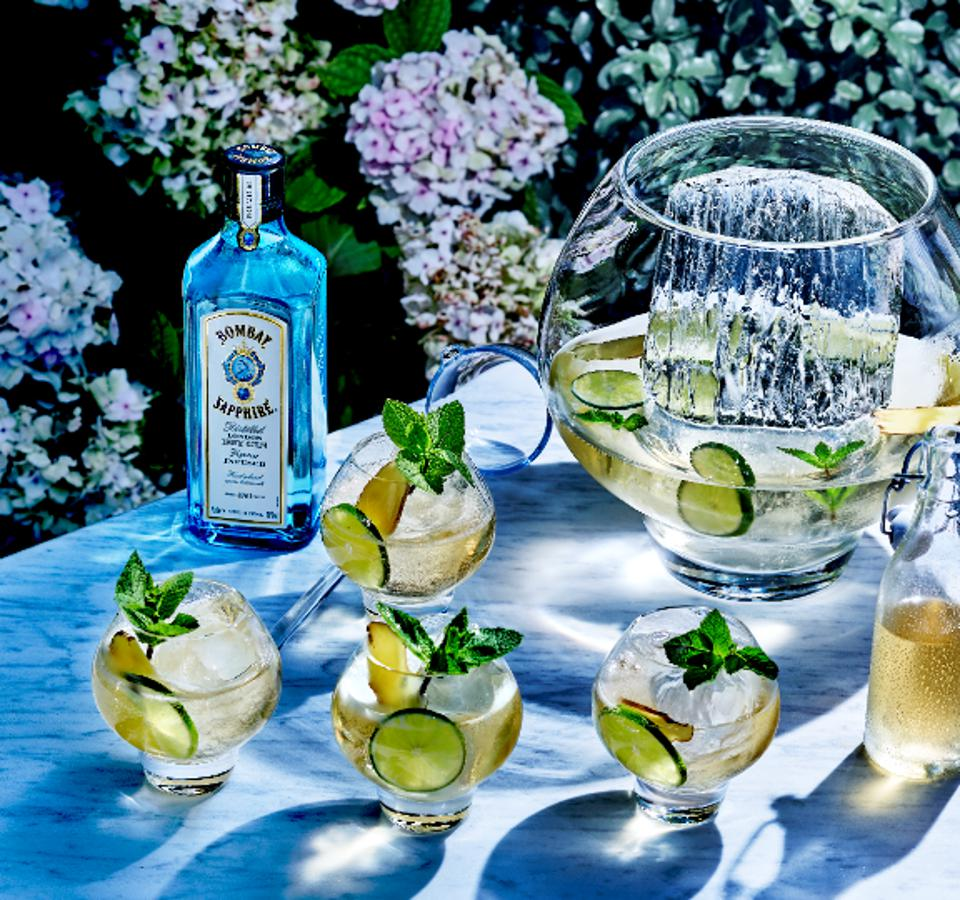 Bombay Sapphire Summer Punch_Easy Cocktail Recipes