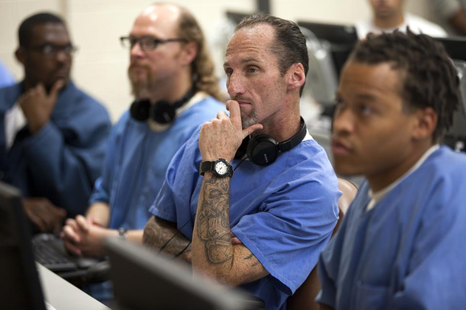Prison inmates learn job skills before they're released